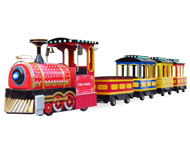小火车被广泛用于游乐场和旅游景点