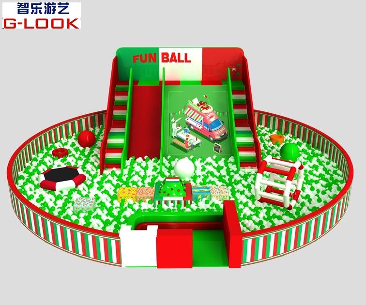 淘气堡-百万球池